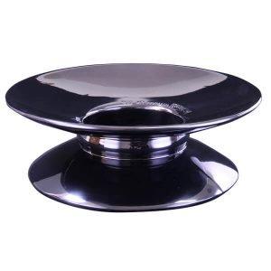 Black Pedestal Support Stand