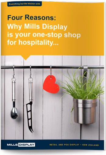 Thanks for your interest | Free eBook - Hospitality | Mills Display NZ