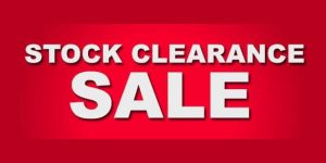 Retail Display Products Stock Clearance!