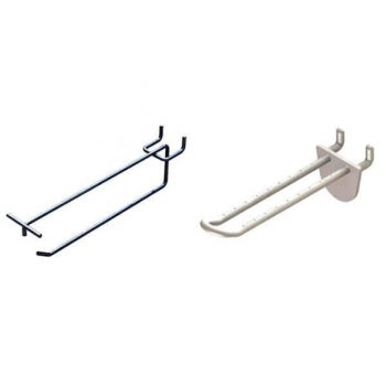 Retail Hooks and Prongs