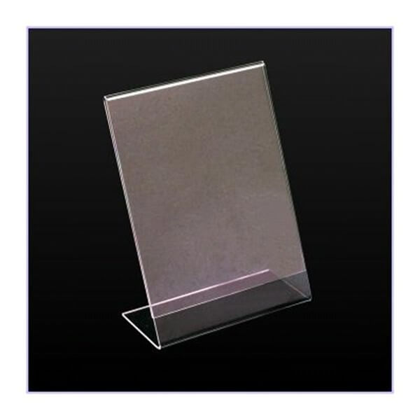 SINGLE SIDED CARD HOLDER A5 2mm ECONOMY