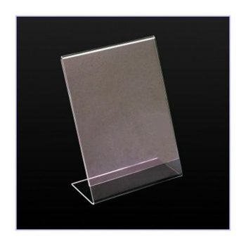 SINGLE SIDED CARD HOLDER A4 2mm ECONOMY