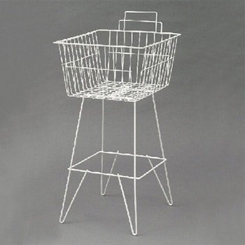 Dump Basket White