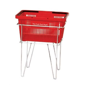 Chrome Basket Stand