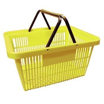 Yellow Shopping Basket