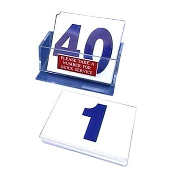 Customer Service Blue Number Kit