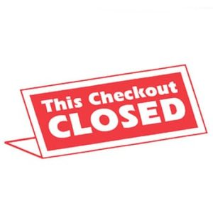 Checkout Closed