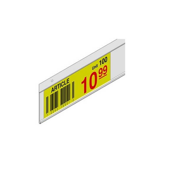 HANG SCAN CLEAR 26x894mm INCLUDES 4 CLIPS