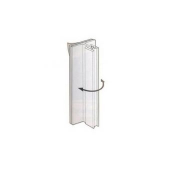 FLEXIBLE AISLE FLAG HOLDER 75mm (3-4mm CAPACITY)