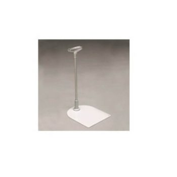 FRAME STAND & T PIECE ALUMINIUM WITH BASE 300mm HIGH
