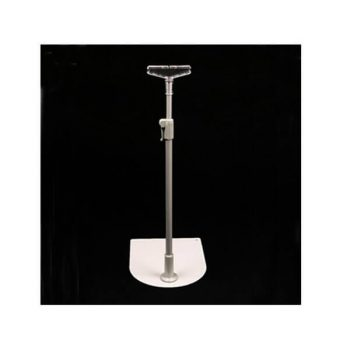 TELESCOPIC STAND ALUMINIUM WITH BASE 300-500mm