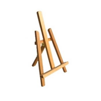 EASEL A4 DISPLAY STAND 42Hcm WOODEN