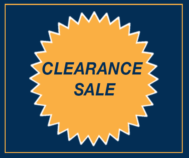 End of Year Clearance Sale NOV 2017 – All Must Go Don't Miss Out!
