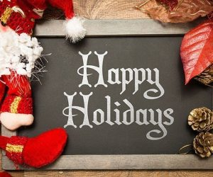 Happy Holidays and best Wishes for the Festive Season!