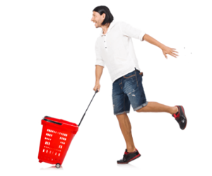 Shopping Baskets Improve Customer Experience Infographic