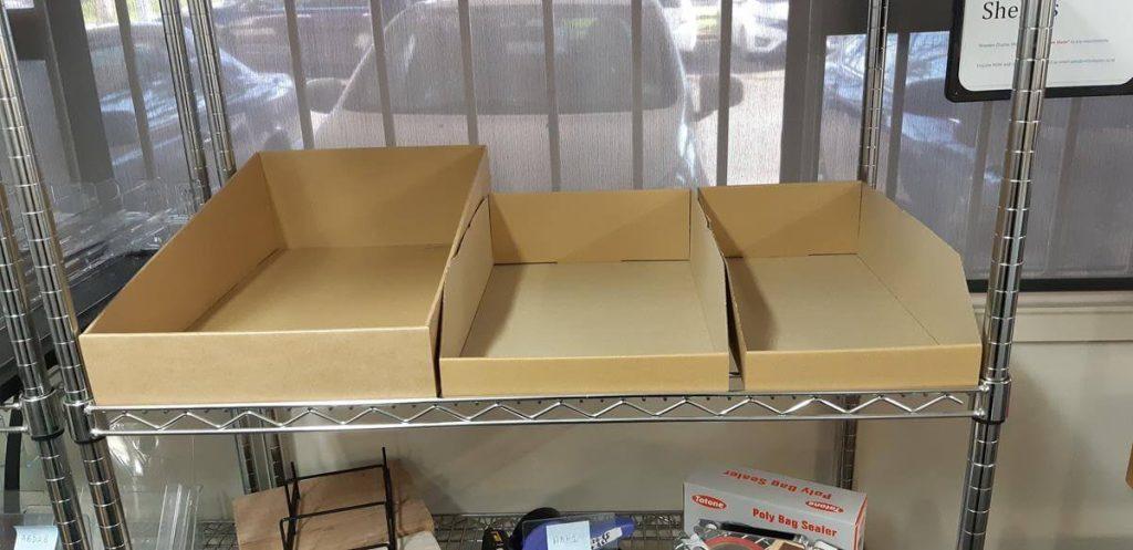 Cardboard Merchandise Boxes