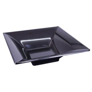 Melamine Essence Bowl Black - 250x250x70mm