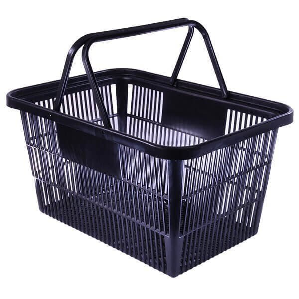 Shopping Basket Large Black Supplier NZ