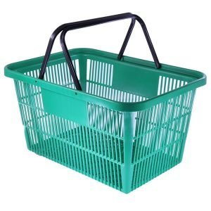Shopping Basket Large (Green)