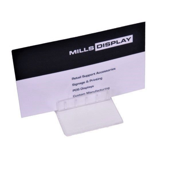 Table Top Card Holder 40x50mm 1mm Cap