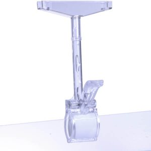 P.O.P Clip Frame Mount W T-Piece Clear