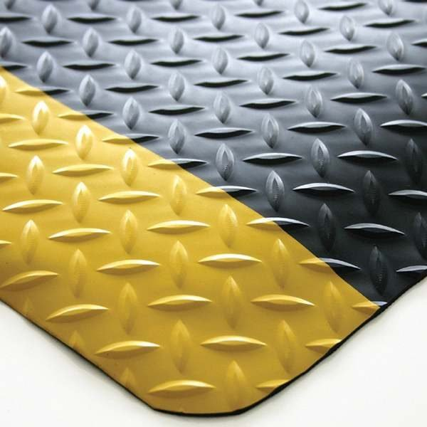 Anti Fatigue Mat Diamond Plate 900mm Per Metre