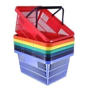 Retail Shopping Baskets, Trolleys and Accessories